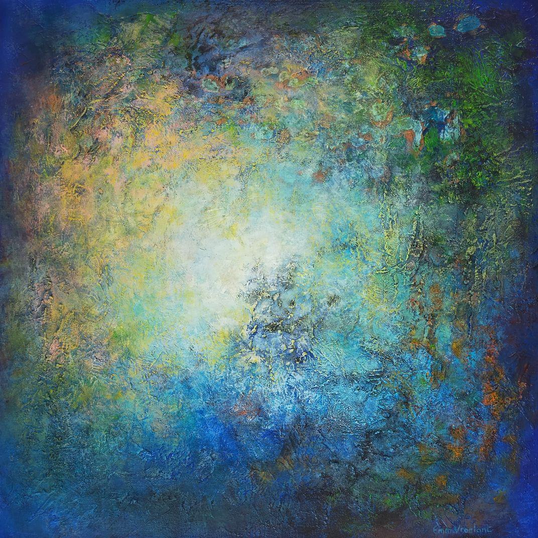 BLUE HALO by Vroelant Emmanuelle