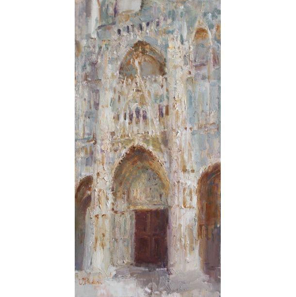 Rouen Cathedral by Valeria Privalikhina