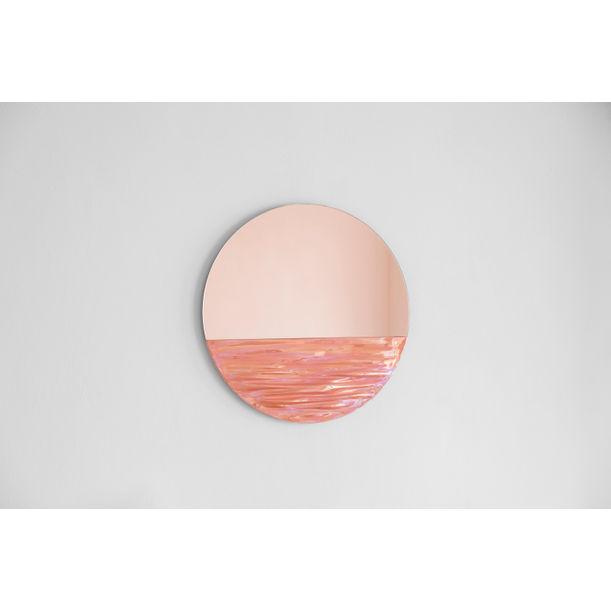 Orizon Mirror in Coral by Ocrum
