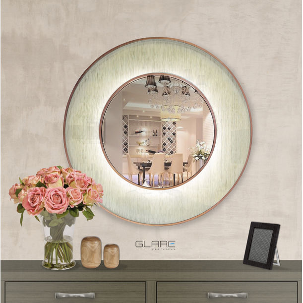 Halo Mirror by GLARE