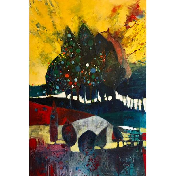 Christmas Trees by Effat Pourhasani