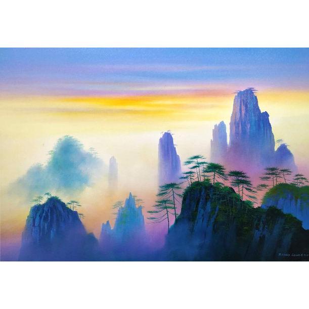 Mountain Glory by Richard Leung