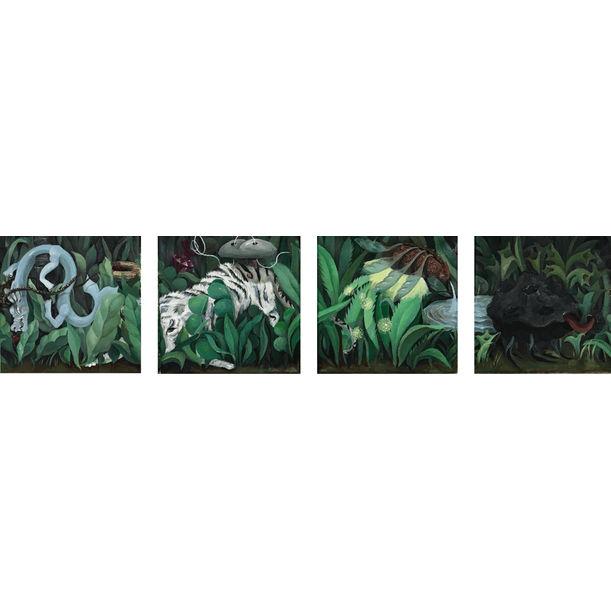 Spiritual Animals by Yuanyu Xiong