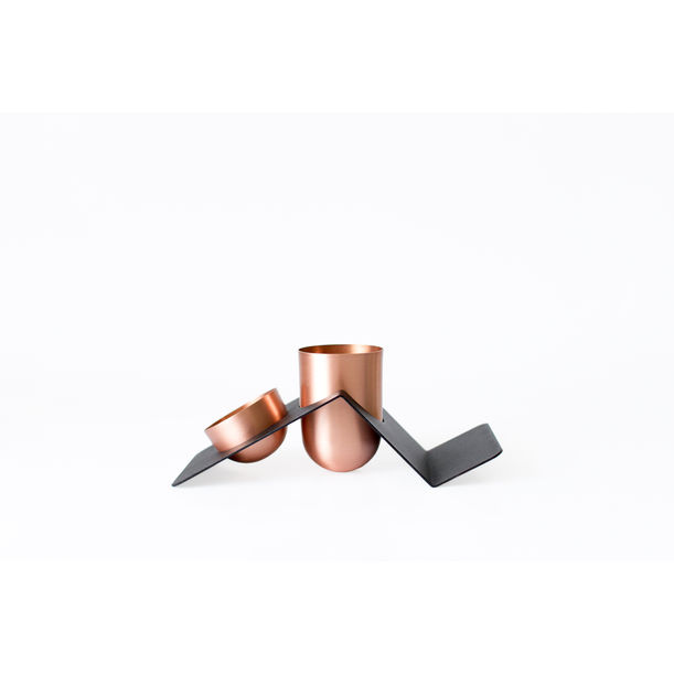 Blank Desk Organizer / Copper by Kitbox Design