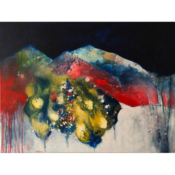 Mountain's dream by Effat Pourhasani