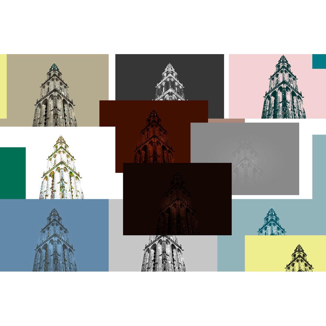 Some emotional towers by Zhou Chengzhou