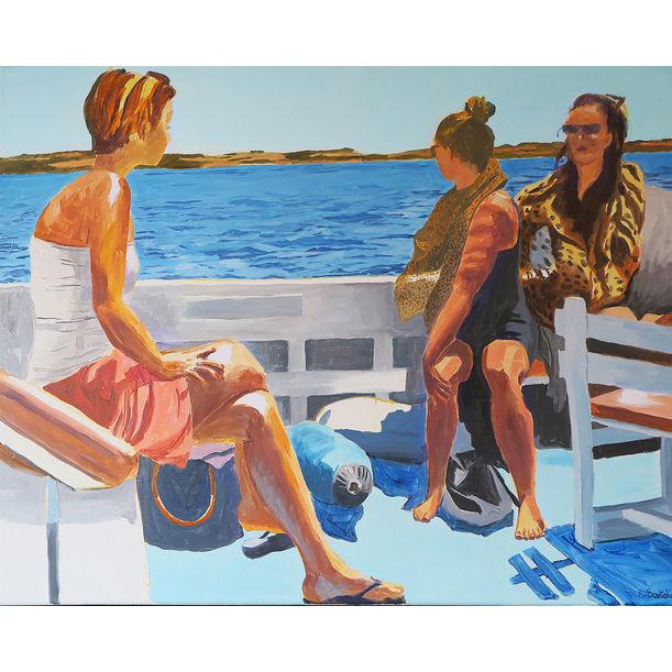 Bateau pour Formentera by Karine Bartoli