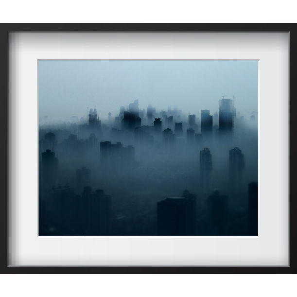 Shanghai Fog 6/20 - Limited Edition by Serge Horta
