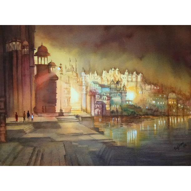 Evening Glow by Rashmi Soni