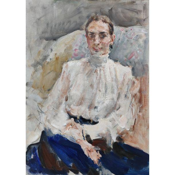 Portrait of Nastya by Yuriy Ushakov