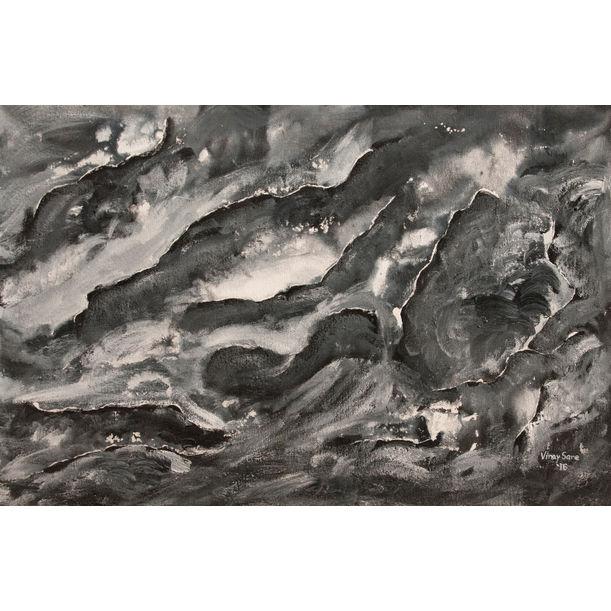 Misty valleys by VINAY SANE