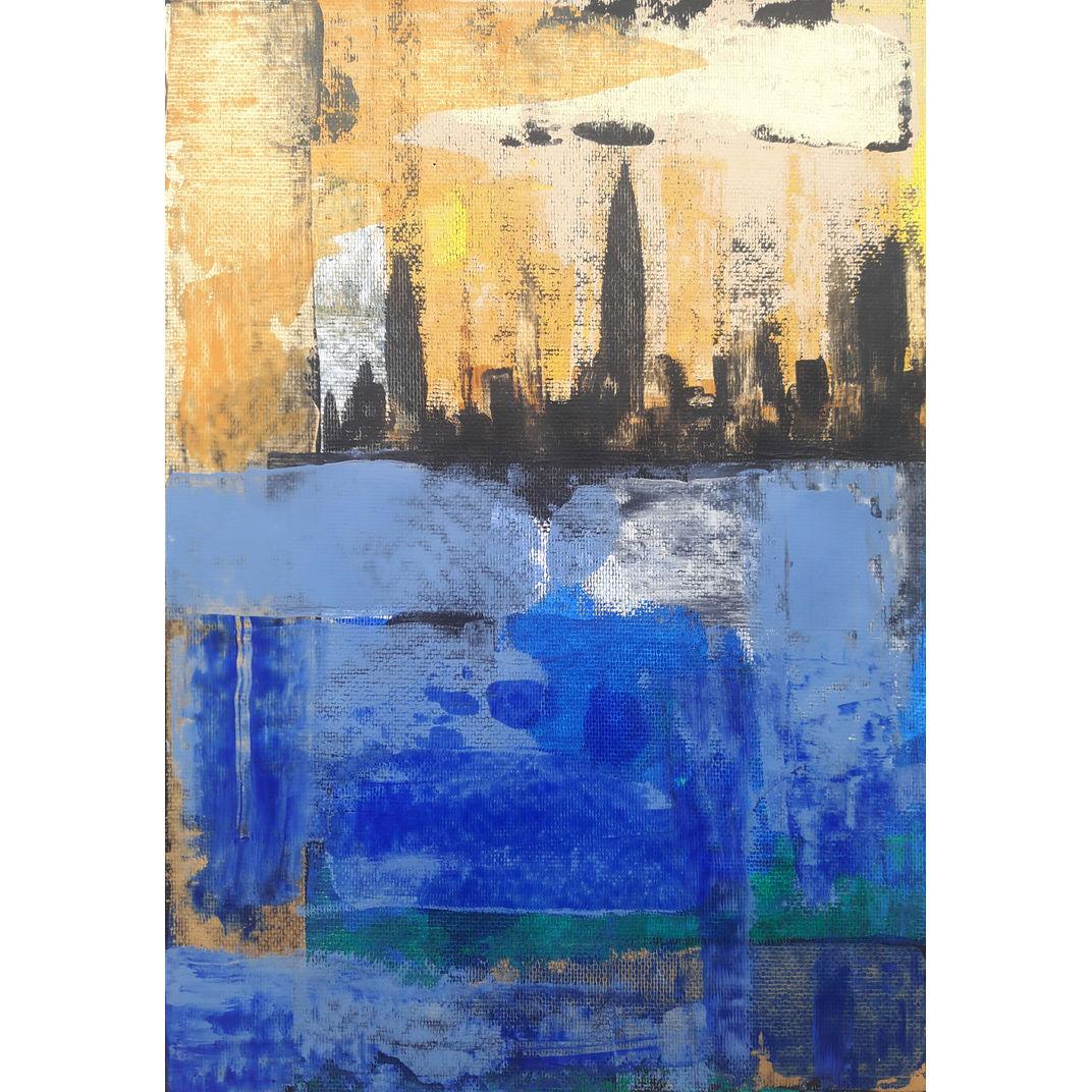 Big city blues by Alex SanVik