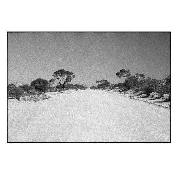 Coondambo Road by Damian Seagar