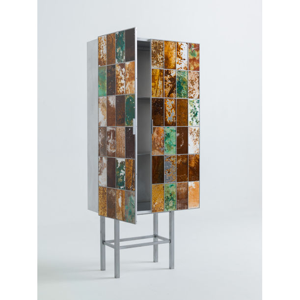 Rust Harvest Cabinet by Yuma Kano