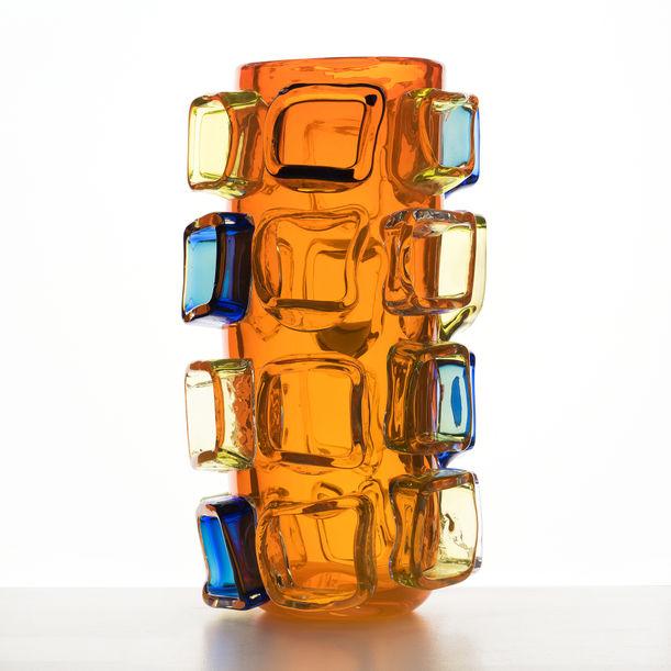 Orange Vase by Martin Potsch
