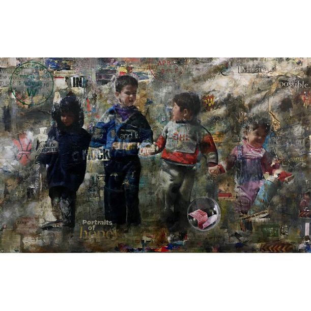 Immigrant 21 by Ali Esmaeilipour