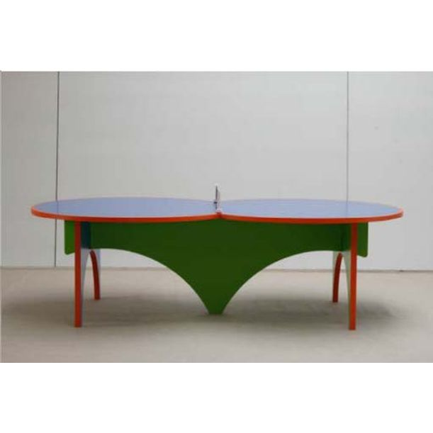 Ping Pong Table/4 paddles by Lin Jing