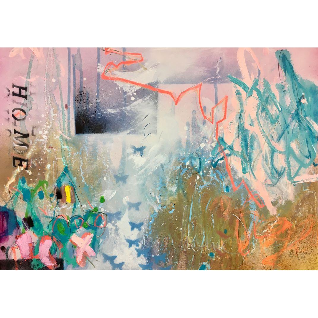 homesick I - inspired by Dua Lipa by Bea Garding Schubert