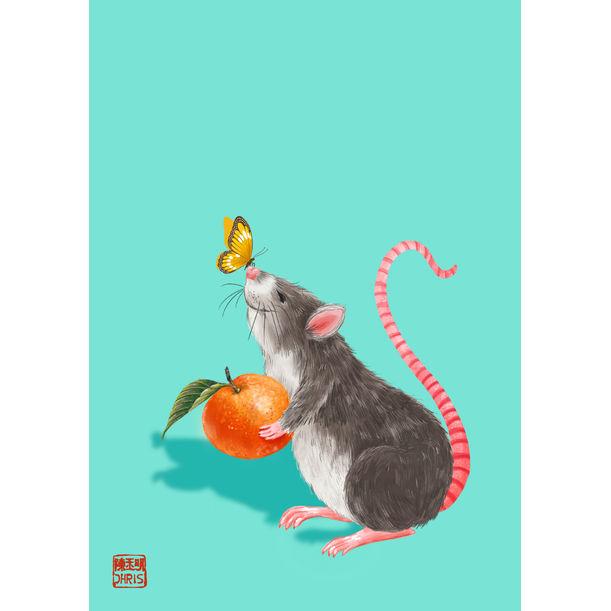 Lucky Orange by Chris Chun