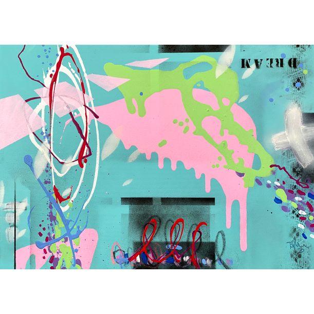Dream XIX #pinkmakeshappy by Bea Garding Schubert