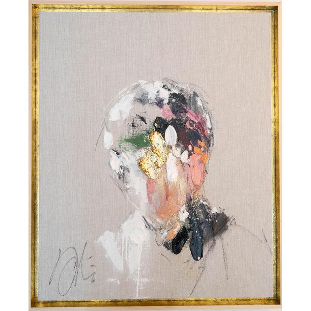 Antique Gold Portrait work by Tomoya