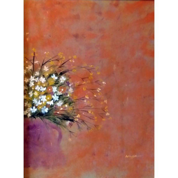 Autumn flower by Hong Nga Nguyen
