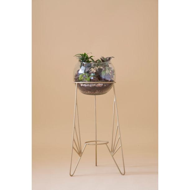 Aurea - gold plant stand 1 by Fi