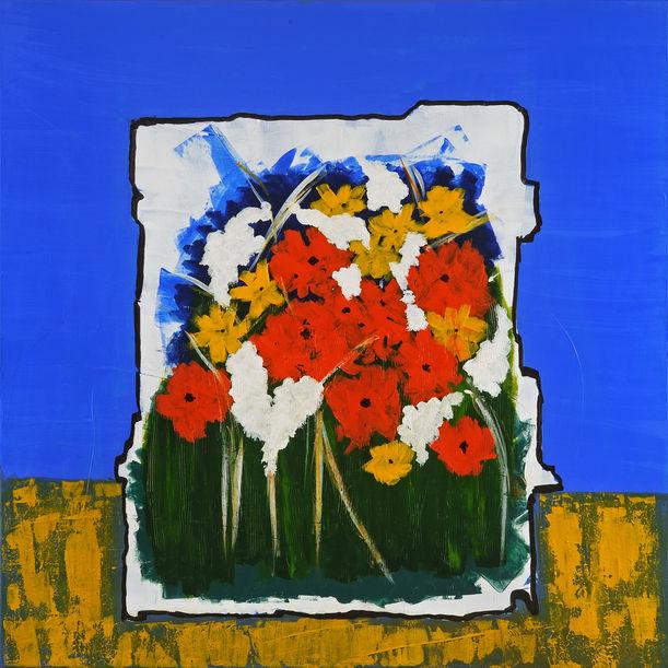 JARDIN IN BLUE by Vatsala Menon