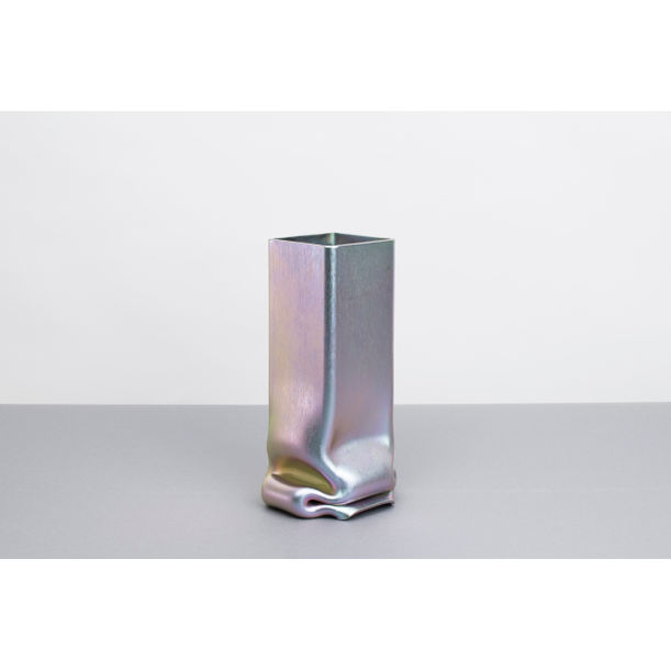 Pressure Vase Square Zinc-Plated by Tim Teven