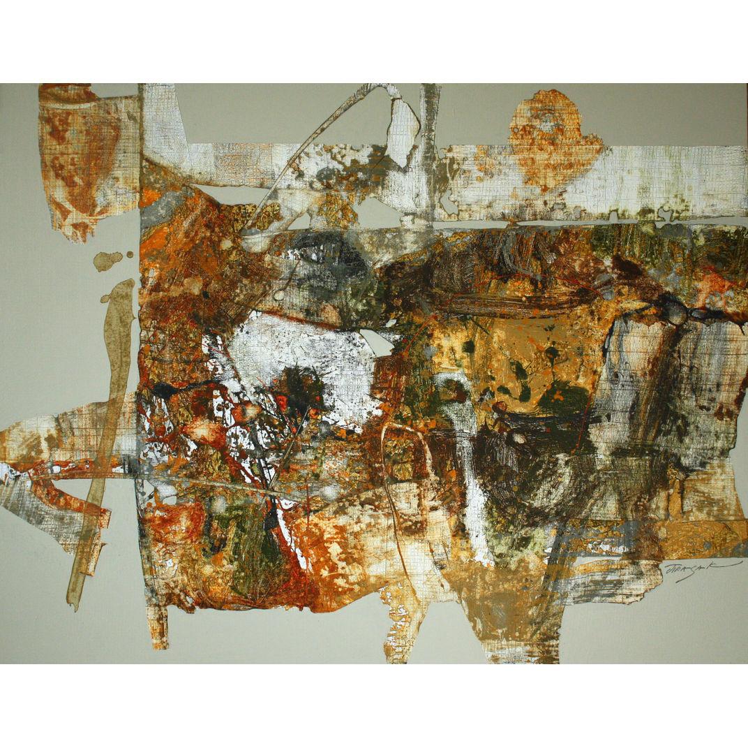 Abstrct Landscape No.10 by Jirasak Plabootong