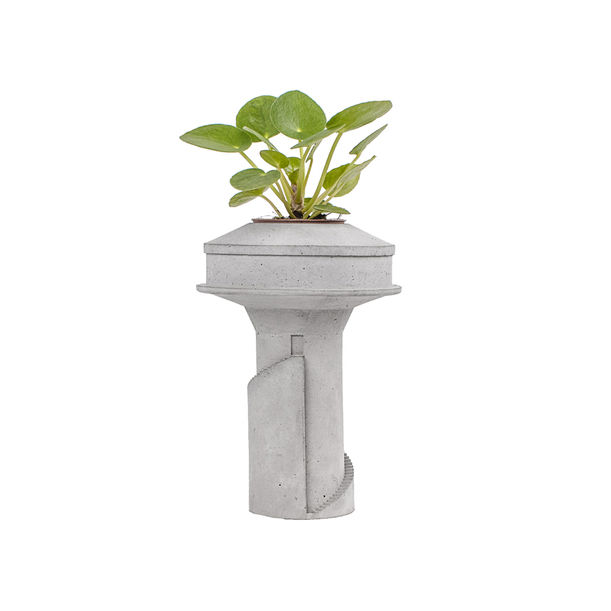 Water Tower 2 – Mini planter by Tiipoi