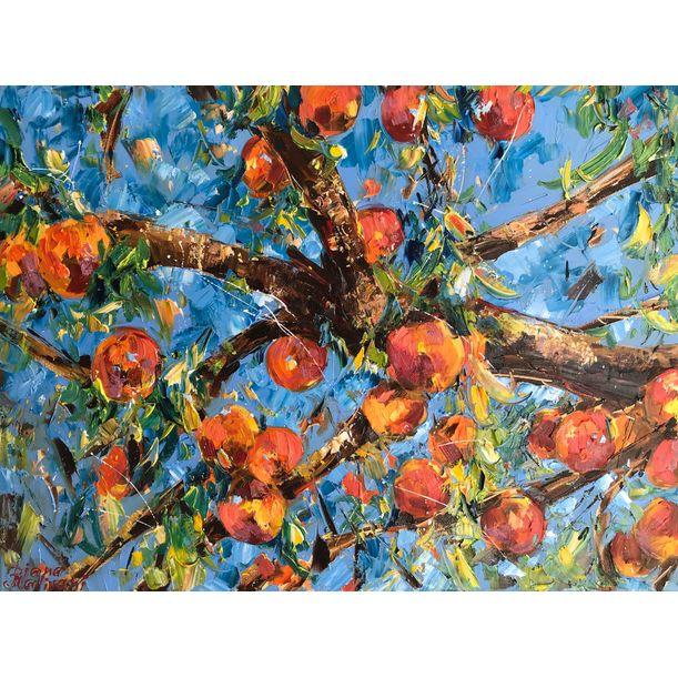 Peach Tree by Diana Malivani