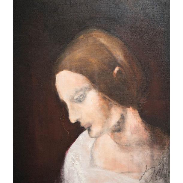 Study of a Woman contemporary after Leonardo da vinci by Tomoya