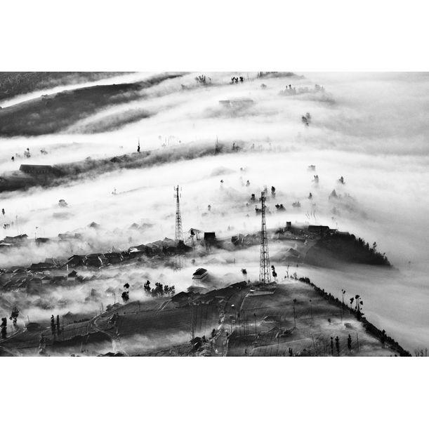 Mist Over Valley by Shirren Lim