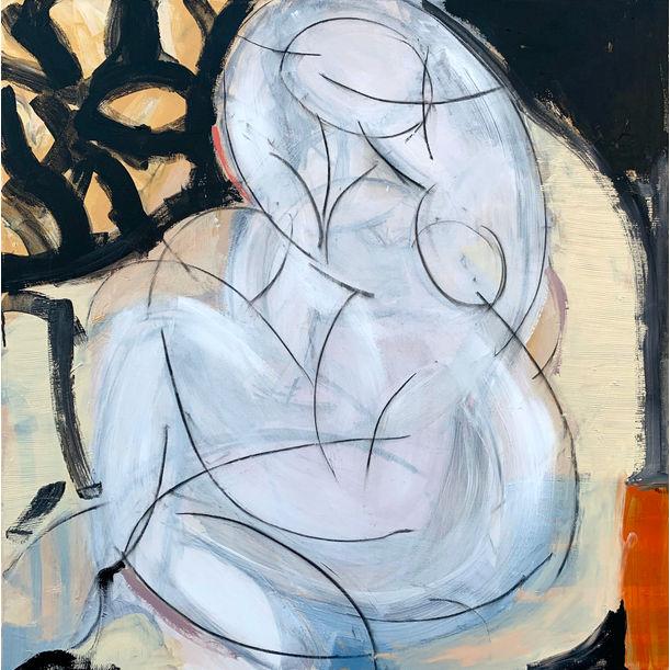 Woman Seated II by Heidi Lanino