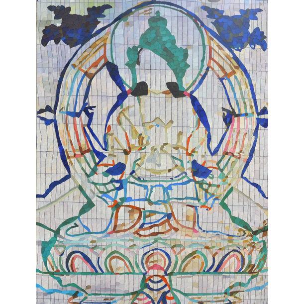 Transformation of Shadakshari Lokeshvara by Zheng Guogu (郑国谷)