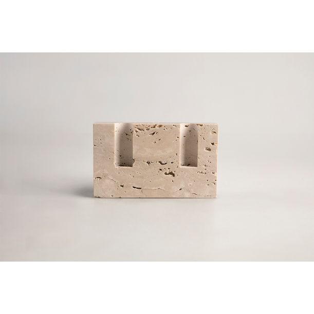 Snug candle holder - Smooth bone white by Sanna Völker