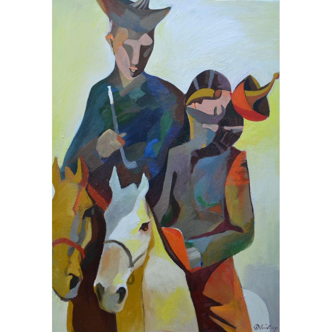 Lovers by Ganbold Dorjderem