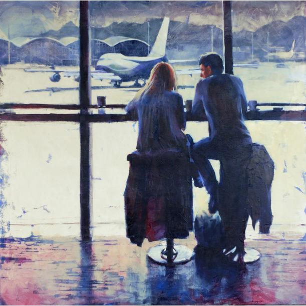 Flight delay by Igor Shulman