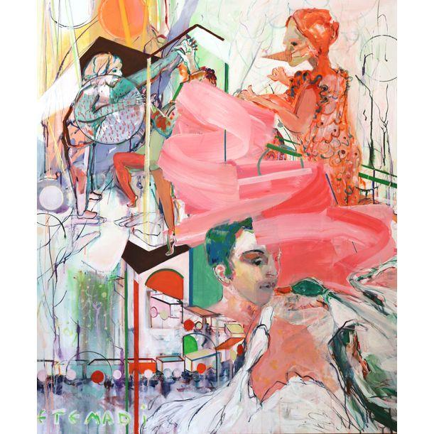 DAncer in color by Elham Etemadi