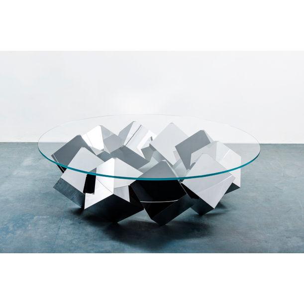 Magic Mirror Table by Duffy London