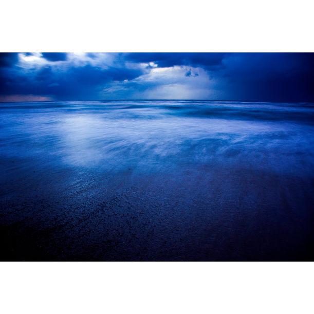 Winter storm over Sidni Ali beach II by Tal Paz-Fridman