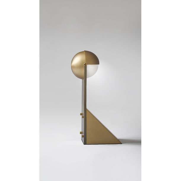 DANCE OF GEOMETRY – TABLE LAMP by Square in Circle Studio