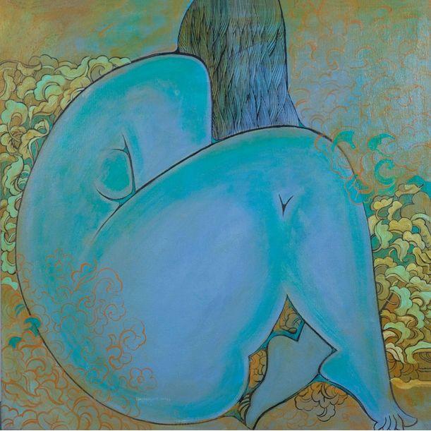 The Teenager by Shurentsetseg Sukhbat