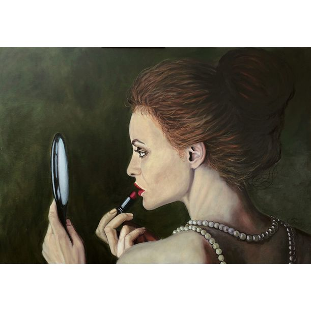 Lipstick by Kinga Sokol