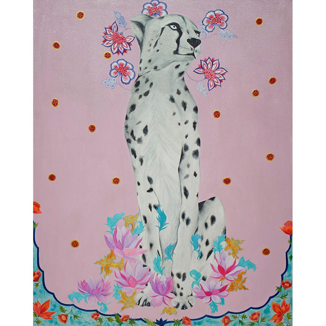 Pink Cheetah by Asia Hillion Kvacova