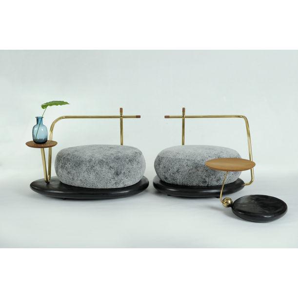 Zen Stone (Set) by Apiwat Chitapanya