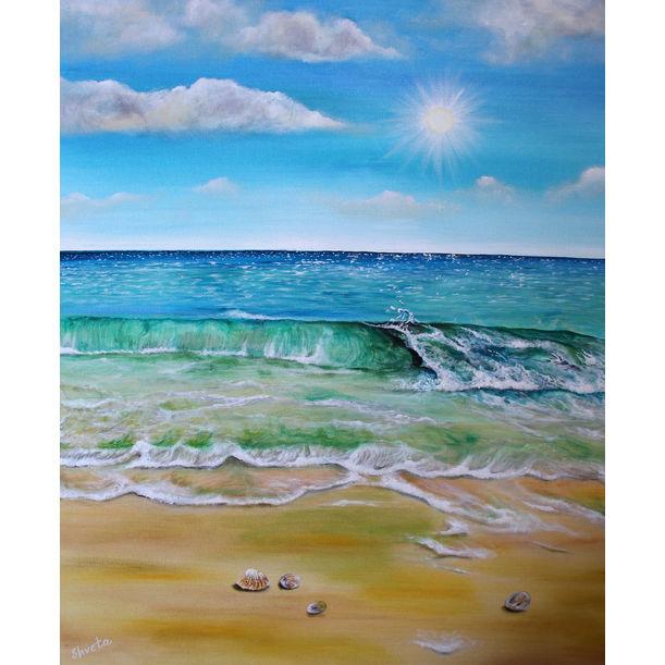 Summer waves by Shveta Saxena