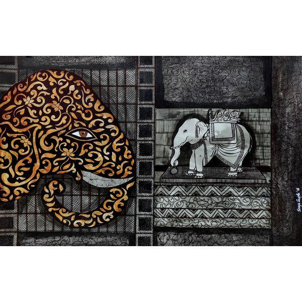 Ancient Aura 5 by Sreya Gupta