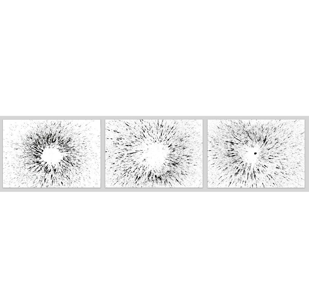 Triptych Untitled No. 119 by Sumit Mehndiratta